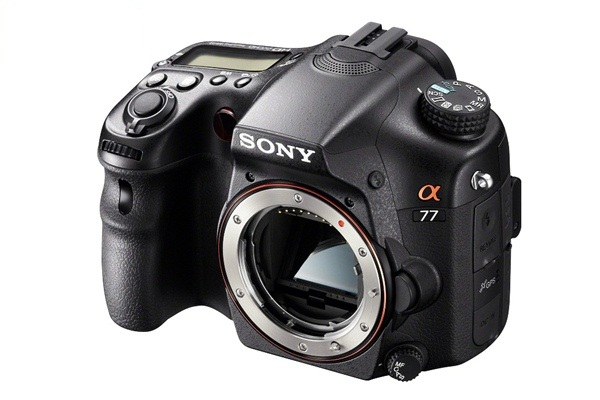 Sony Launches Alpha 77 Cameras Continuous Shooting 12 fps 8