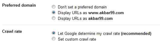 Canonical URL: How To Set Preffered Domain www or non www 2
