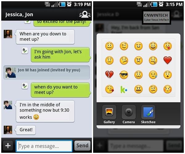 Cross Platform Chatting with KIK Messenger 3